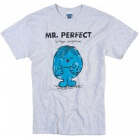 Men's Heavyweight Mr Perfect Mr Men T-Shirt - Mr Perfect Gifts