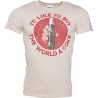 Men's I'd Like To Buy The World a Coke T-Shirt - Coke Gifts