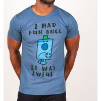 Men's Mr Grumpy I Had Fun Once T-Shirt - Grumpy Gifts
