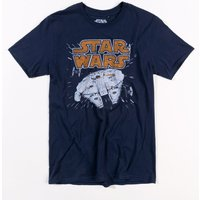 Men's Navy Star Wars Millennium Hyperspace T-Shirt - Star Wars Gifts