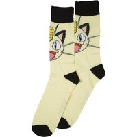 Pokemon Meowth Crew Socks - Pokemon Gifts