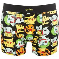 Men's Pokemon Pikachu And Friends Boxer Shorts - Pokemon Gifts