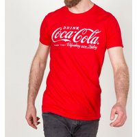 Men's Drink Coca-Cola Logo T-Shirt - Clothes Gifts