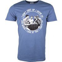 Men's Stand By Me Throw Up Indigo Blue T-Shirt - Truffleshuffle Gifts