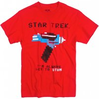 Men's Star Trek Always Set To Stun T-Shirt - Star Trek Gifts