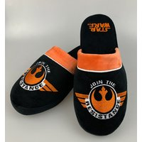 Men's Star Wars Join The Resistance Slip On Slippers - Star Wars Gifts