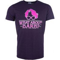 Men's Stranger Things Inspired What About Barb Blackberry T-Shirt - Blackberry Gifts