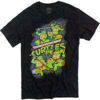 Men's Teenage Mutant Ninja Turtles Fearsome Fighting Team T-Shirt - Fighting Gifts