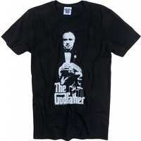 Men's The Godfather Don Corleone Black T-Shirt - The Godfather Gifts