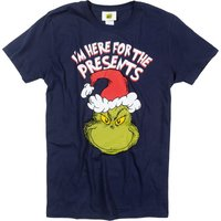 Men's The Grinch Here For The Presents T-Shirt - Presents Gifts