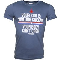 Men's Top Gun Your Ego Is Writing Checks T-Shirt - Gun Gifts