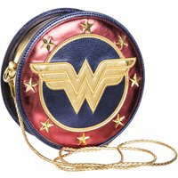 Metallic Wonder Woman Shield Cross Body Bag - Wonder Woman Gifts