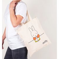 Miffy Reading Canvas Tote Bag - Reading Gifts