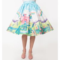 My Little Pony Castle Scene Skirt from Unique Vintage