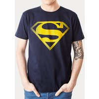 Men's Navy Superman Logo T-Shirt from For Love & Money - Money Gifts
