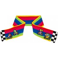 Nintendo Super Mario Kart Rainbow Track Knitted Scarf - Knitted Gifts