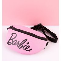 Pink Barbie Logo Bum Bag from Spiral