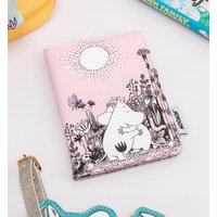 Pink Moomin Love Passport Holder from House Of Disaster - Passport Gifts