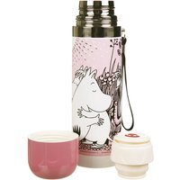 Pink Moomin Love Thermal Flask from House of Disaster - Flask Gifts