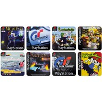 PlayStation Game Set Of 4 Coasters - Playstation Gifts