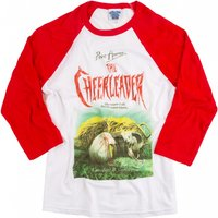 Point Horror The Cheerleader White And Red Raglan Baseball T-Shirt - Horror Gifts
