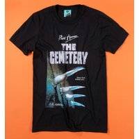 Point Horror The Cemetery Black T-Shirt - Horror Gifts