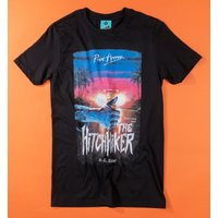 Point Horror The Hitchhiker Black T-Shirt - Horror Gifts