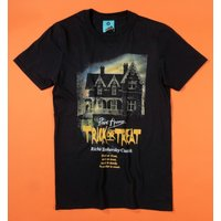 Point Horror Trick Or Treat Black T-Shirt - Horror Gifts