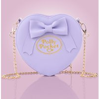 Purple Polly Pocket Heart and Bow Cross Body Bag - Polly Pocket Gifts