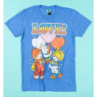 Rainbow Brite Love Blue T-Shirt - Truffleshuffle Gifts