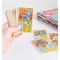 Retro Marvel Comics Top Trumps Card Game - Retro Gifts