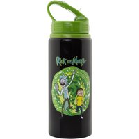 Rick And Morty Portal Aluminium Water Bottle - Water Gifts