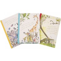 Roald Dahl Set Of 3 Exercise Books - Books Gifts