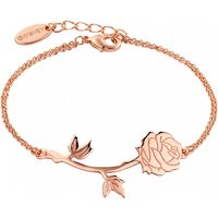 Rose Gold Plated Beauty & The Beast Rose Bracelet from Disney Couture - Disney Jewellery Gifts