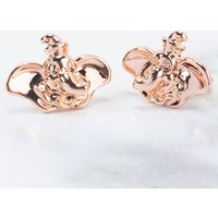 Rose Gold Plated Dumbo Stud Earrings from Disney by Couture Kingdom - Disney Jewellery Gifts