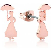 Rose Gold Plated Mary Poppins Stud Earrings from Disney by Couture Kingdom - Disney Jewellery Gifts