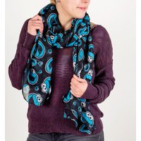Sesame Street Cookie Monster Lightweight Scarf - Cookie Monster Gifts