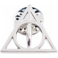 Silver Plated Harry Potter Deathly Hallows Pin Badge - Harry Potter Gifts