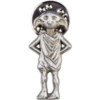 Silver Plated Harry Potter Dobby The House Elf Pin Badge - Harry Potter Gifts