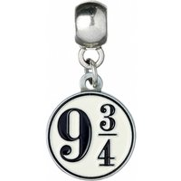 Silver Plated Harry Potter Platform 9 And 3/4 Slider Charm - Harry Potter Gifts