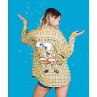 SpongeBob SquarePants Flannel Shirt from Cakeworthy - Spongebob Gifts