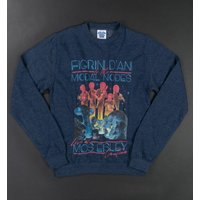 Star Wars The Intergalactic Tour Heather Navy Sweater - Sweater Gifts