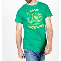 Stranger Things Inspired Camp Know Where Green T-Shirt - Green Gifts