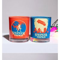 Stranger Things Set Of Two Glass Tumblers from Funko - Stranger Things Gifts
