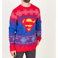 Superman Knitted Jumper - Christmas Jumper Gifts