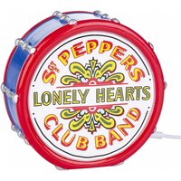 The Beatles Sgt Peppers Lonely Hearts Club Band LED Lamp from House Of Disaster - Beatles Gifts