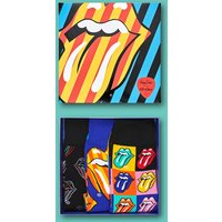 The Rolling Stones Socks 3 Pack Gift Box from Happy Socks - Rolling Stones Gifts