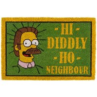 The Simpsons Flanders Hi Diddly Ho Neighbour Door Mat - The Simpsons Gifts