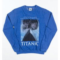 Titanic Movie Poster Heather Royal Sweater - Sweater Gifts