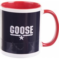 Top Gun Goose Mug with Red Handle - Gun Gifts